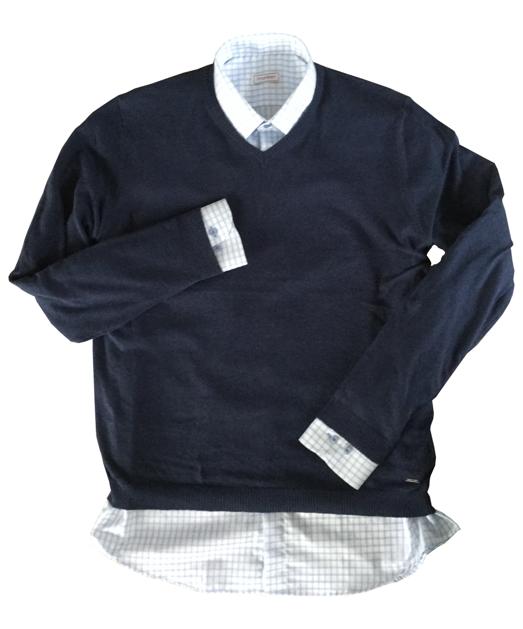 7fc85e8fd177 Pánske svetre na košele - Príručka nielen pre mužov diel 1.
