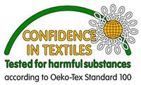 Logo Confidence in Textiles.
