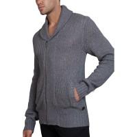 8425d78c1e73 Pánske svetre na košeli - Moderné cardigany a pulóvre do V