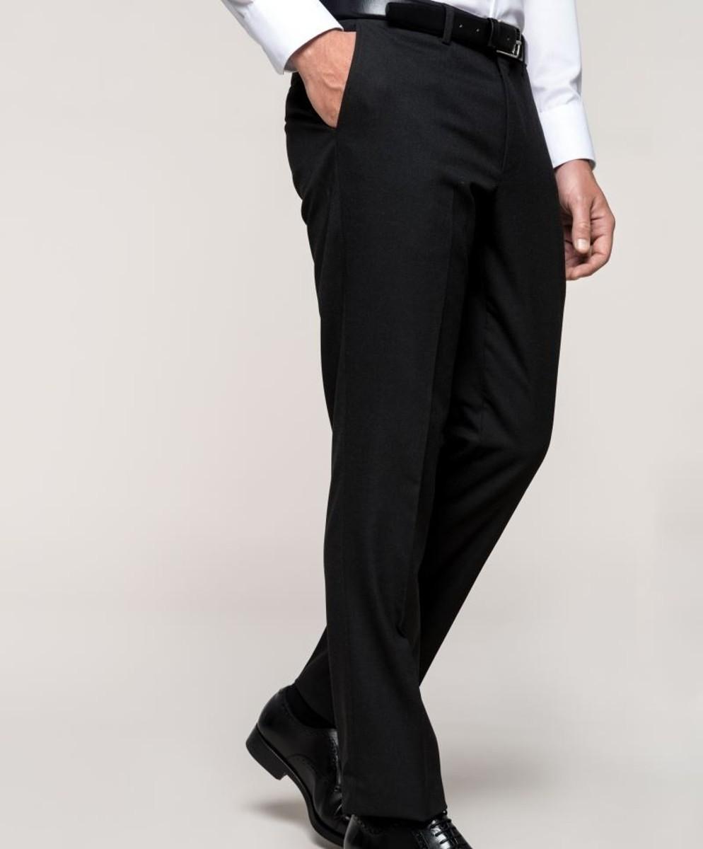 05f222e08277 Pánske oblekové nohavice s elastanom