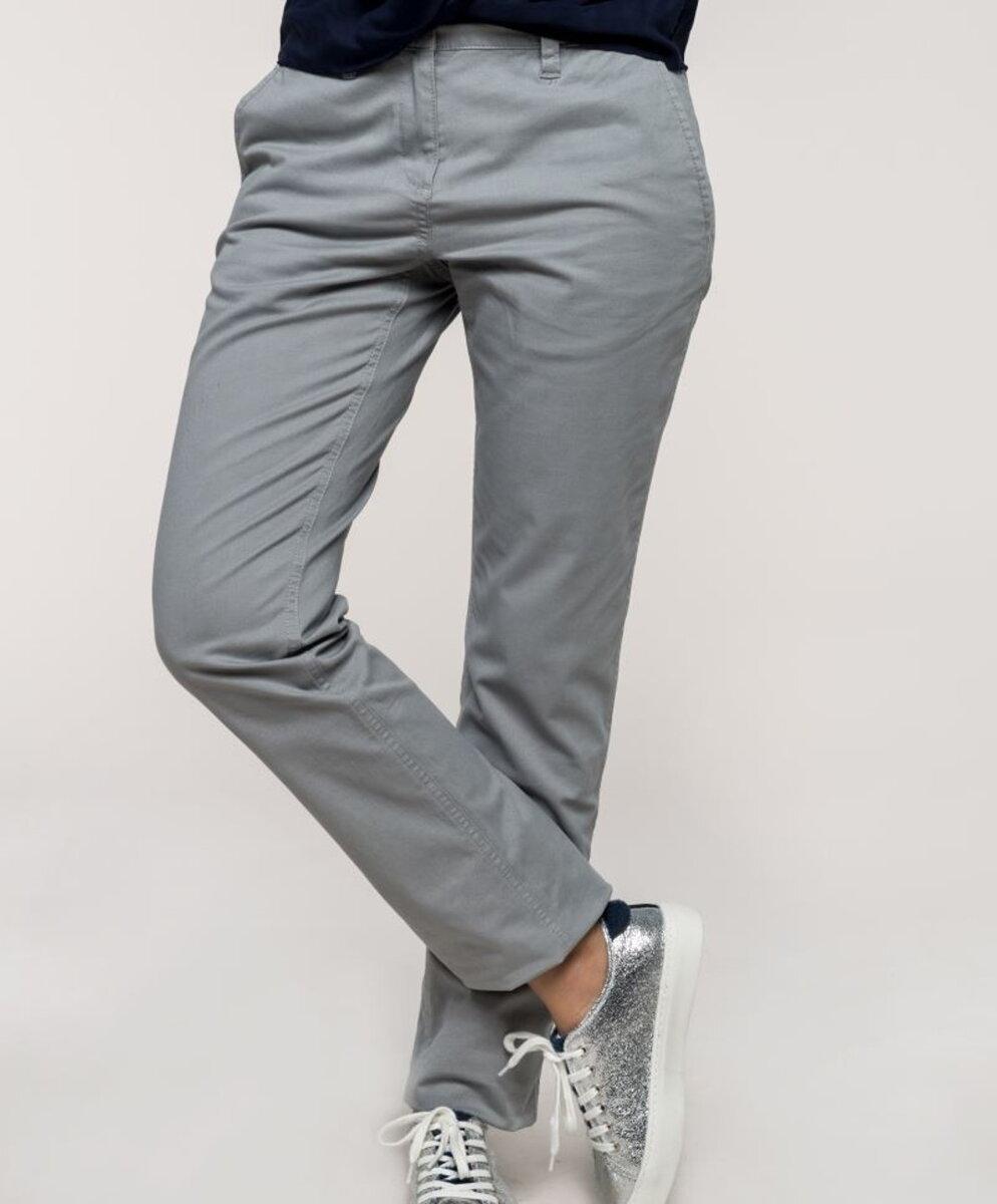 53c102531c6b Dámske nohavice Chino bavlna s elastanom