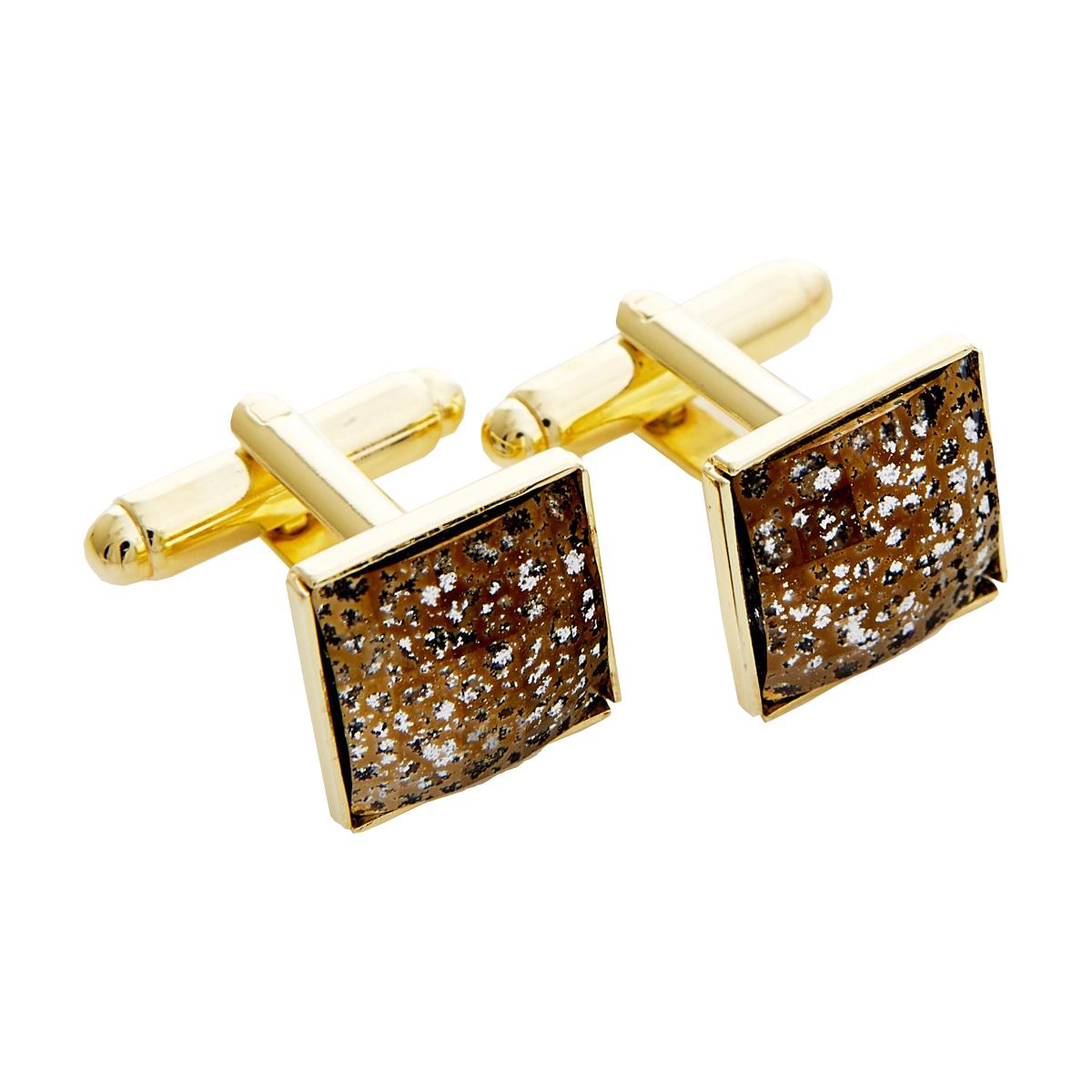 Manžetové gombíky so Swarovski® kameňmi - Gold Patina ea19711b4f7