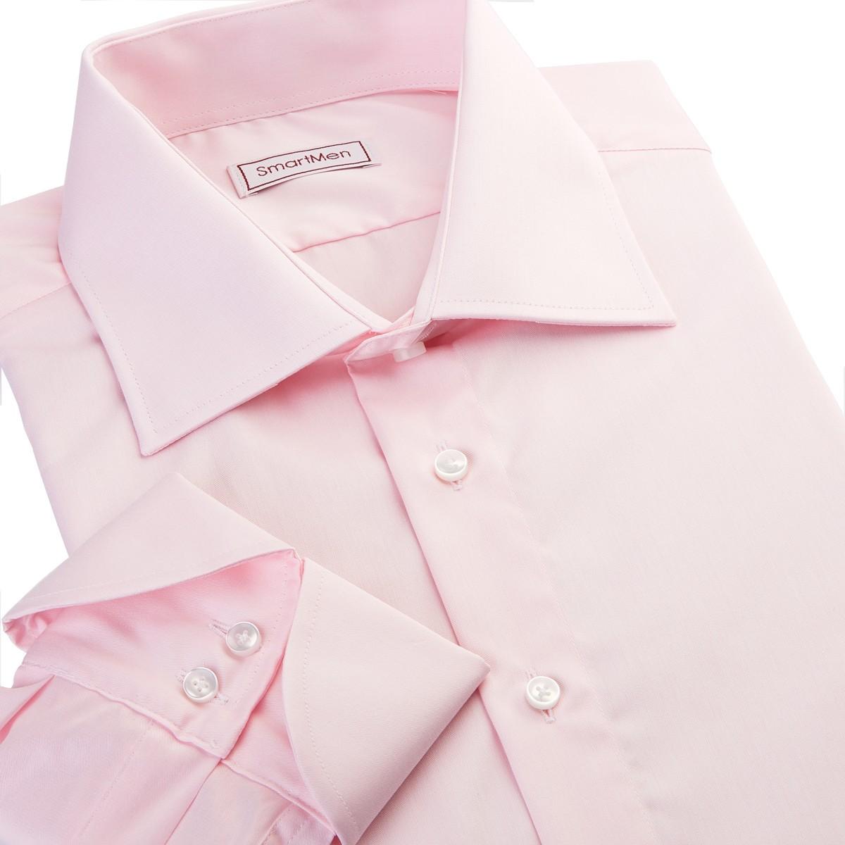 410526291c58 Pánska košeľa ružová Non Iron James Bond