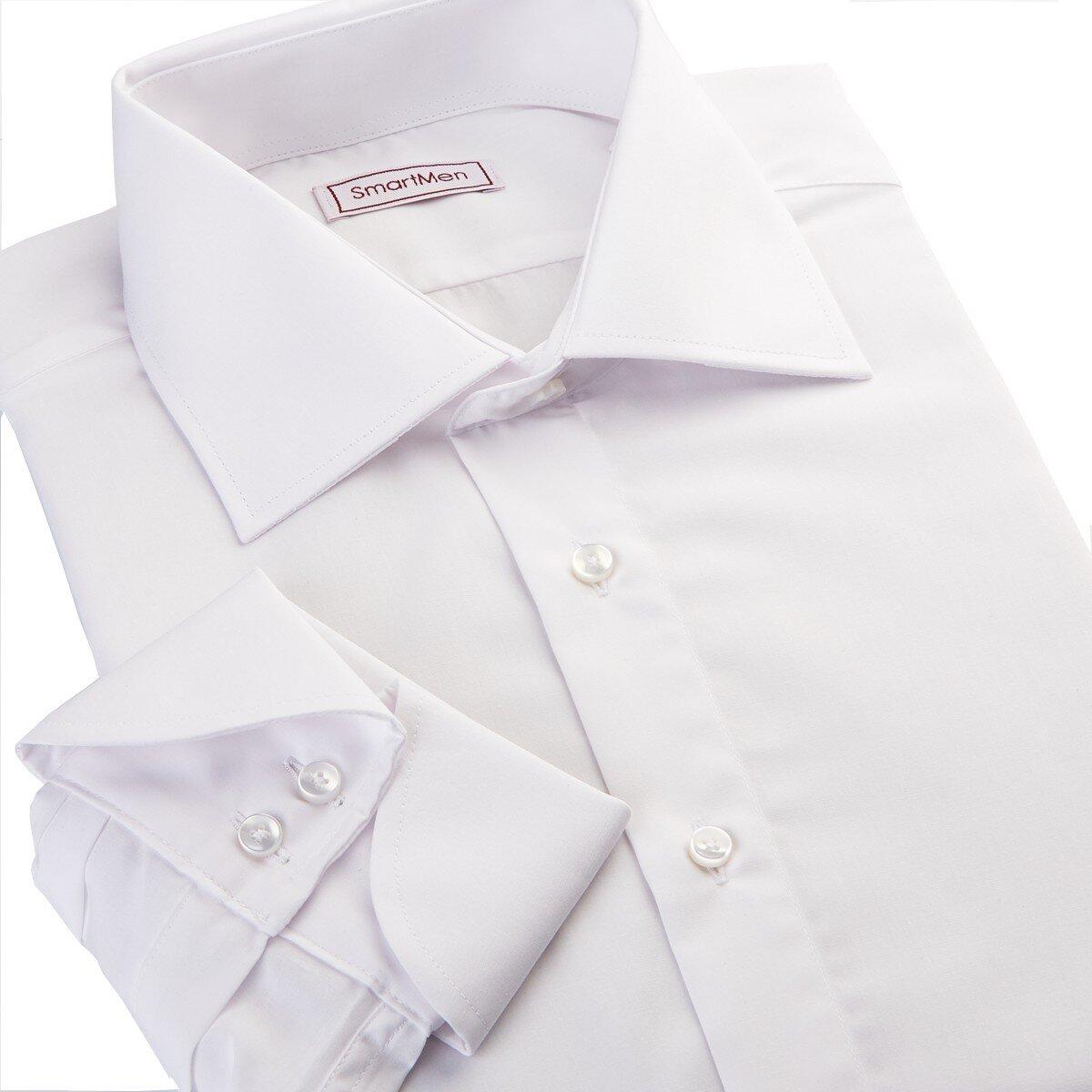 9c8c2cdd4f17 Biela pánska košeľa Non Iron James Bond