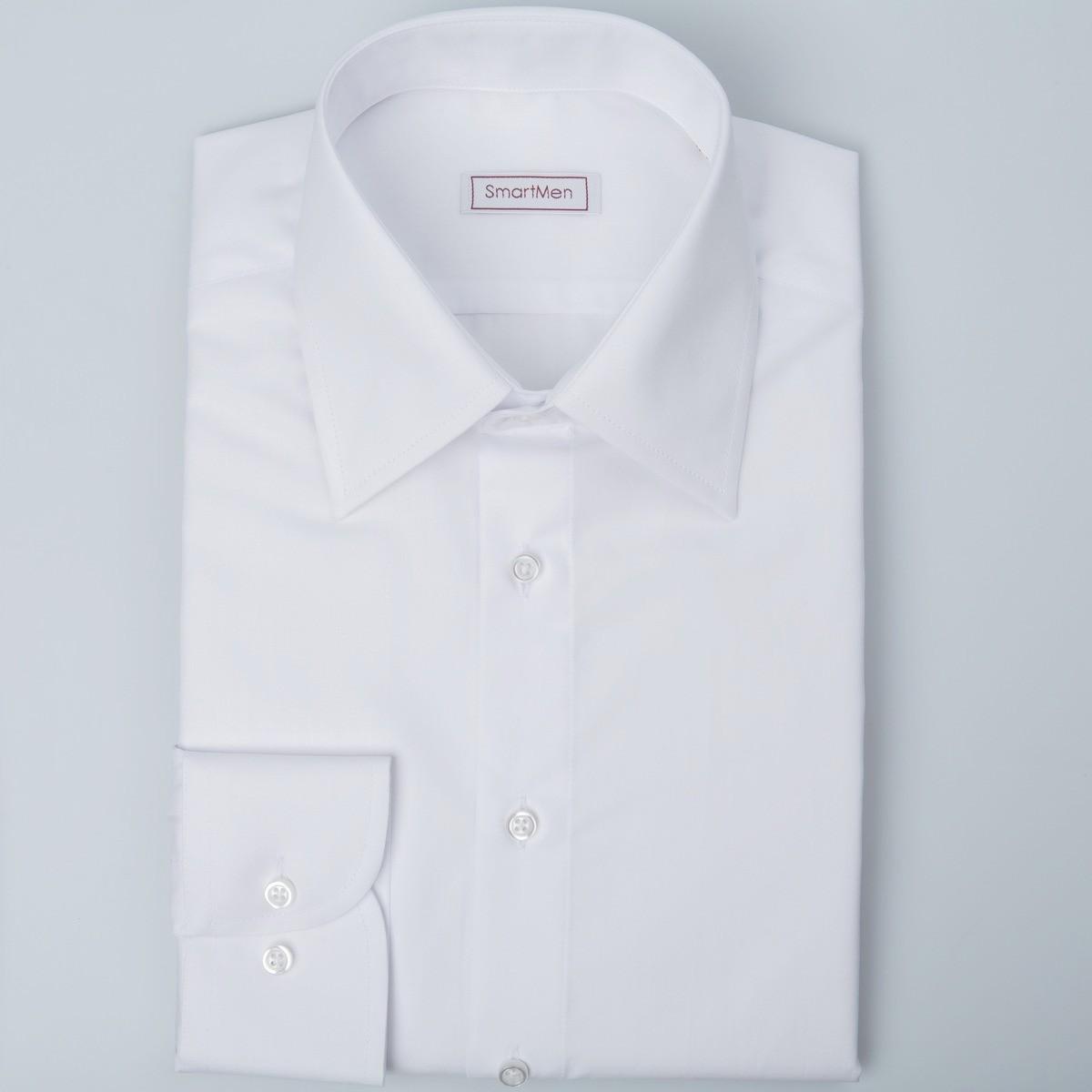a38d7adaf0a3 Biela pánska košeľa s dlhým rukávom spoločenská do oblekov