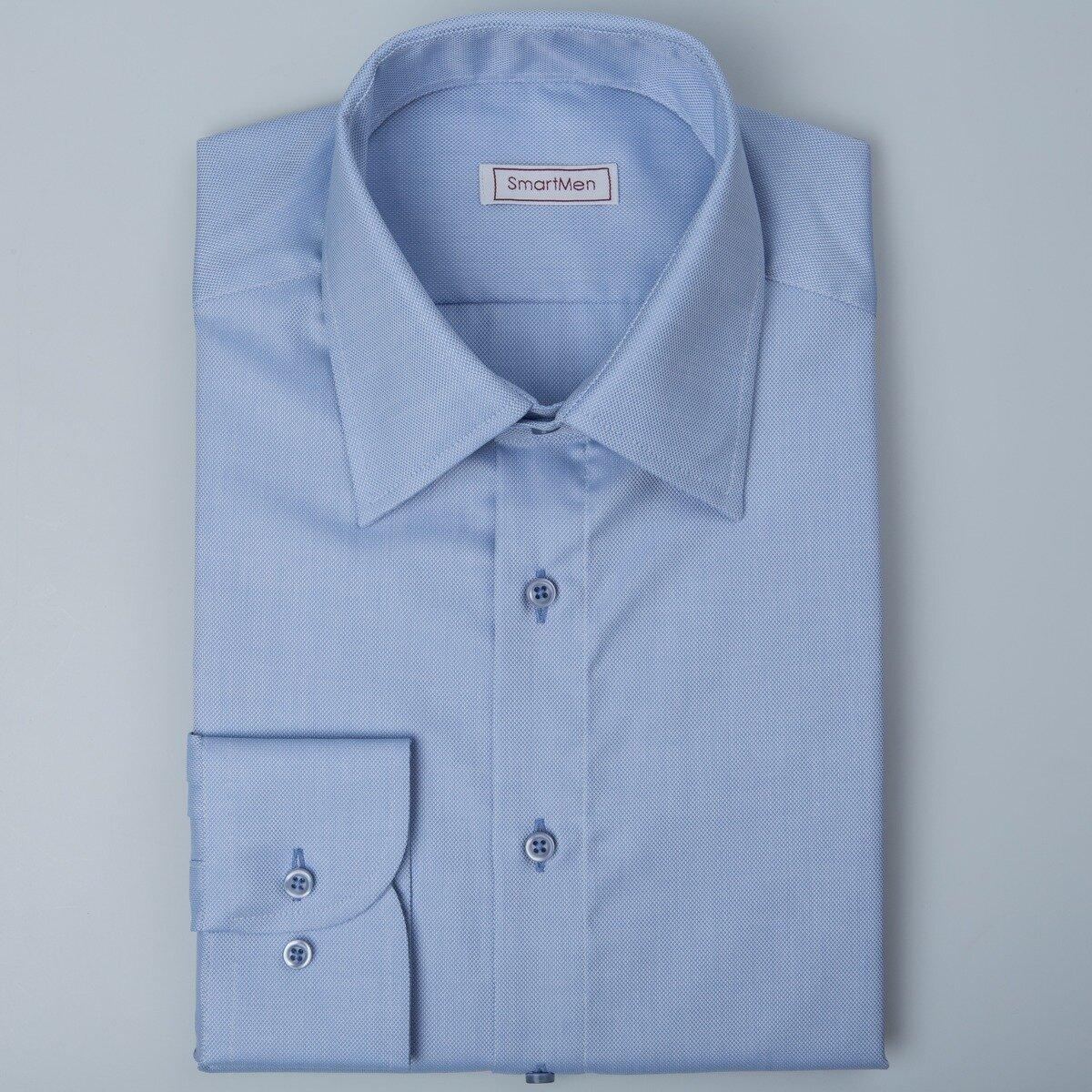 74e7c352cd96 Svetlo modrá košeľa pánska Royal Oxford Easy Care SmartMen