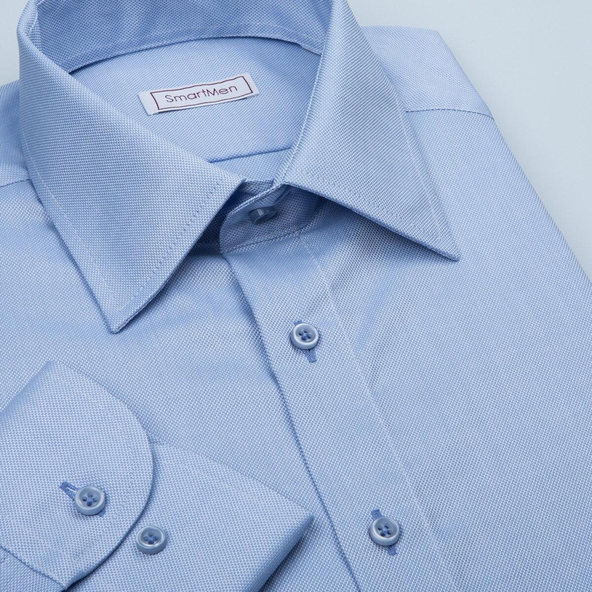 a83a72b6499e Svetlo modrá pánska košeľa Royal Oxford Easy Care