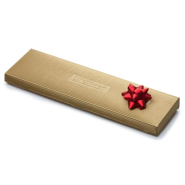c106c9a4e7a4 Darčeková krabička na pánsku kravatu v zlatej farbe