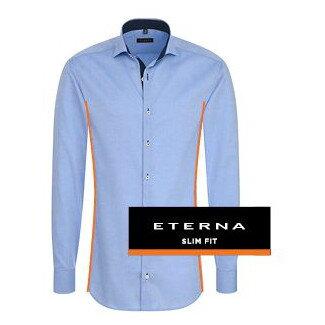 d50543a38da6 ETERNA Slim Fit - priliehavý strih pánskej košele