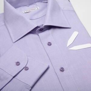 497f17c6e1fe Pánska košeľa jednofarebná fialová Royal Oxford. ZĽAVA 50 ...